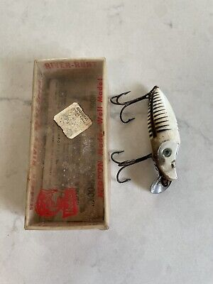$ CDN10.67 • Buy Vintage Heddon River Runt Spook Sinker Shore White Black Fishing Lure & Box