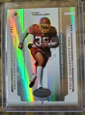 $6.54 • Buy 2004 Leaf Certified Materials SEAN TAYLOR Mirror White SERIAL # /150 ROOKIE RC