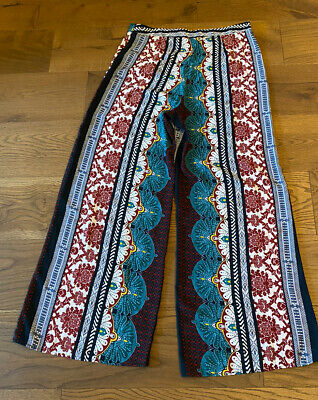 Ladies River Island Wide Leg Size 14R Palazzo Trousers Immaculate Hardly Worn • 8£