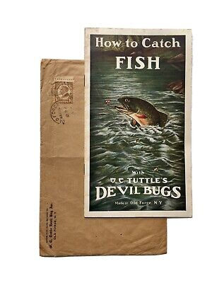 $ CDN31.38 • Buy Vintage Early Tuttles Devil Bugs Fly Fishing Lure Catalog