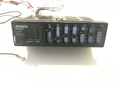 $ CDN118.73 • Buy Vintage Jensen EQA5000 7-Band Equalizer/Amplifier