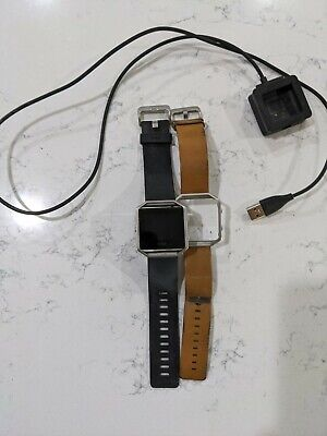 $ CDN7.51 • Buy Fitbit Blaze Smart Fitness Watch, Large - Black With Charger