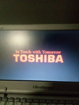 View Details Vintage Toshiba Libretto 110ct Compact Laptop Fully Functional • 300.00$