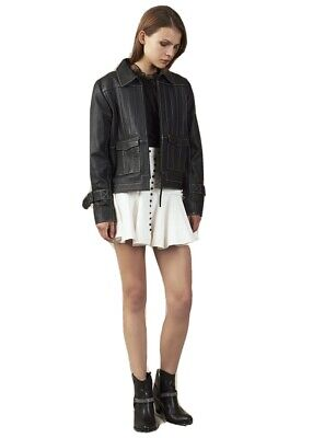 AU250 • Buy Aje Leather Jacket Size 8 As New Condition