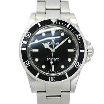 $ CDN11627.57 • Buy ROLEX Submariner No Date 5513 Automatic Serial 8 Black Dial Mens 90123249