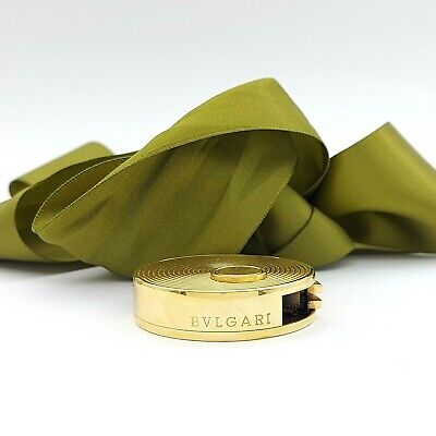 AU5999 • Buy Old BVLGARI Lighter 18ct Yellow Gold Tape Measure Lighter