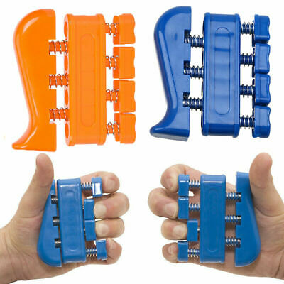 AU5.55 • Buy Finger Grip Strengthener And Hand Exerciser Training Tool Trainer Hand Tension