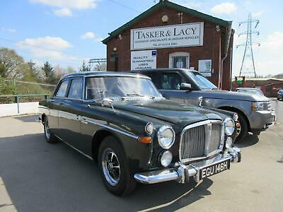 £20000 • Buy 1969 Rover P5B 3.5 Litre Auto Finished In Arden Green With Hide Interior.