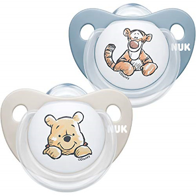 £6.94 • Buy NUK Trendline Baby Dummy   0-6 Months   BPA-Free Silicone Soothers   Disney The