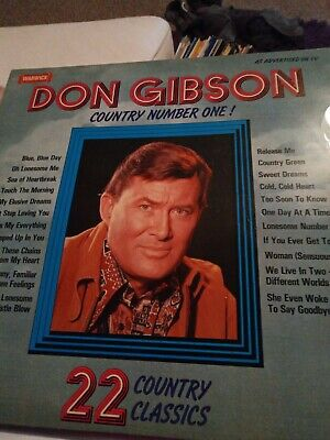 £2.99 • Buy Don Gibson – Country Number One ! 12   VGC (25)
