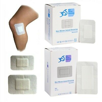 £3.99 • Buy 365 Non Woven Adhesive Sterile Dressings Breathable Plasters Cuts & Wounds Burns