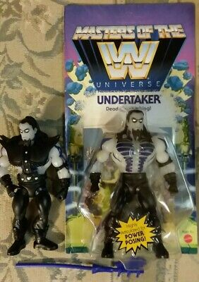 $134.98 • Buy 2 Undertaker ScareGlow Action Figures Masters Of The WWE Universe MOTU Unpunched