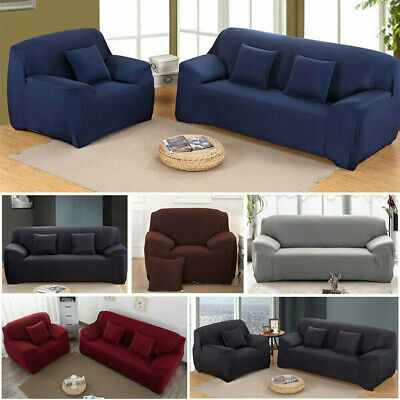 AU15.99 • Buy Sofa Cover 1 2 3 4Seater Stretch Couch Lounge Recliner Chair Slipcover Protector