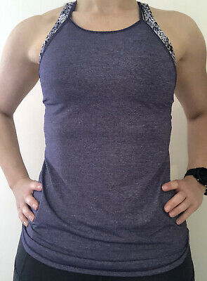 $ CDN1.71 • Buy Lululemon Tank Strap Vest Top Size US 4 UK 8 Purple