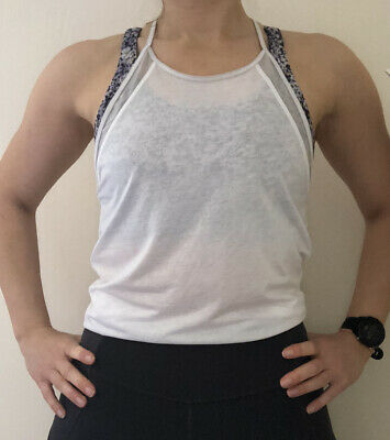 $ CDN1.71 • Buy Lululemon Tank Strap Vest Top Size US 4 UK 8 White