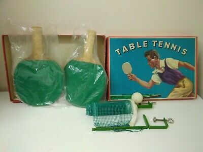 AU18.18 • Buy Vintage Spears Games Table Tennis Set In Box Vintage Net Bats & Ball