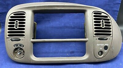 $44.99 • Buy 97-03 Ford Expedition F150 Radio Heater Dash Bezel 4X4 Taupe