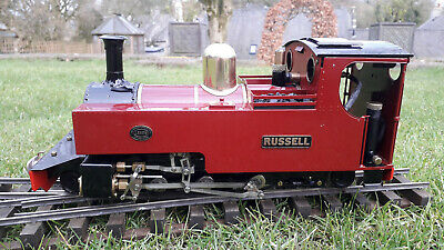 Roundhouse Russell Live Steam Locomotive. 32mm Gauge 16mm Scale SM32 Garden Rly • 990£