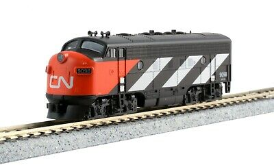 AU83.86 • Buy N Scale KATO EMD F7A CANADIAN NATIONAL CN #9098 DCC Ready Item #176-2135
