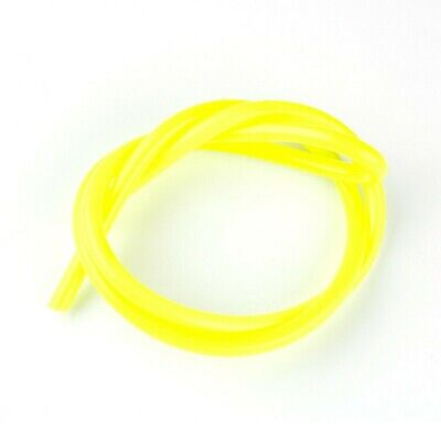 AU9.82 • Buy ID 6mm OD 8mm Motorcycle Fuel Hose Line Pipe Tube Yellow Strips Fittings Parts