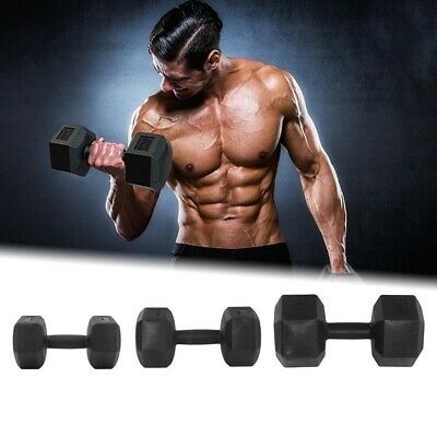 AU22.99 • Buy Premium Rubber Hex Dumbbell Pairs (Brand New) -Commercial Graded - Weight: KG AU