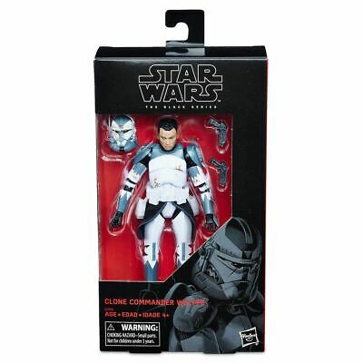 AU69.99 • Buy Star Wars The Black Series Clone Commander Wolffe 6 Inch Action Figure