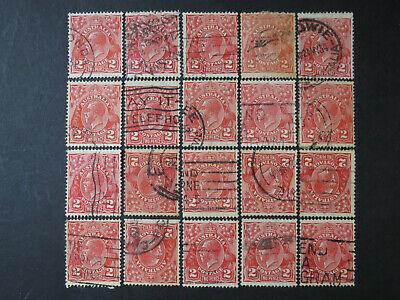 AU0.99 • Buy KGV Heads 2d Red Selection - 1 Page