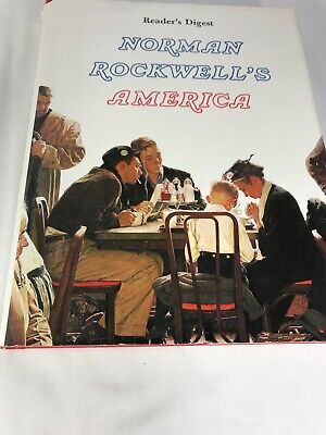 $ CDN16.13 • Buy Norman Rockwell's America COFFEE TABLE BOOK Beautiful Fold-out Photos HARDCOVER