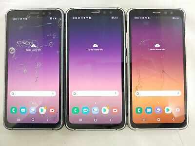 $ CDN41.36 • Buy LOT Of 3 Samsung S8 Active SM-G892A 64GB  AT&T/ GSM Unlocked Smartphones A085L