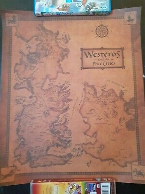 £9.50 • Buy Game Of Thrones Westeros Map Poster