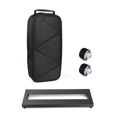 $ CDN46.18 • Buy Small Size Guitar Effect Pedal Board Aluminum Alloy Pedalboard W、Carry Bag Z2C0