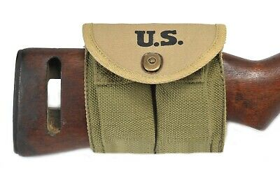 $16.99 • Buy M1 Carbine Buttstock Type Pouch Transitional Model Marked JT&L 1943