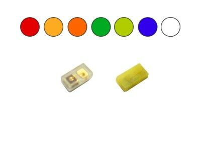 $19.76 • Buy 10 Piece Leds SMD 0201 Red Blue Yellow Green Orange White Warm White To