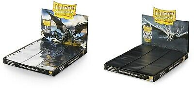 £4.49 • Buy Dragon Shield A4 Trading Card 18-Pocket Pages/Sleeves 10 - 50 Pages Yugioh, MTG