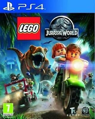 AU27.99 • Buy Lego Jurassic World PS4 VERY GOOD FREE POST+TRACKING INCLUDES MANUAL!