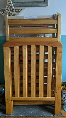 £40 • Buy East Coast Anna Dropside Cot, Antique - Used