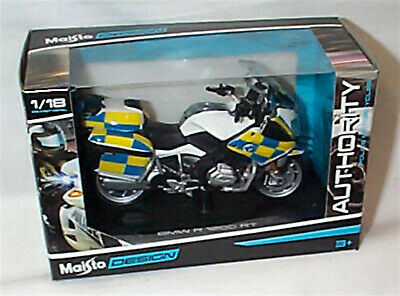 £13.50 • Buy BMW R 1200 RT Police Authority Motorcycle 1-18 Scale New In Box