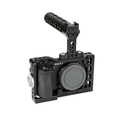 $ CDN40.05 • Buy CAMVATE Cage Kit For Sony Alpha A6500 4K Digital Camera With Top Handle Grip