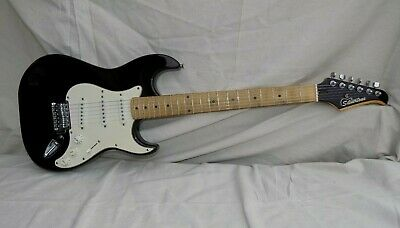 $ CDN250.58 • Buy Vintage Silvertone Stratocaster Style Electric Guitar Well Played Distressed