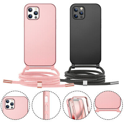 AU19.80 • Buy Case For IPhone 7/8 SE2020 12 12 Pro With Neck Lanyard Holder Cord Strap Cover