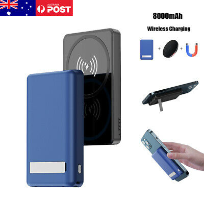 AU38.65 • Buy 8000mAh Portable Wireless Power Bank Magnetic Fast Charger For IPhone 12 Pro Max