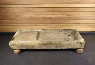 £264 • Buy Large Sandstone Hand Carved 19th Century Sink/Planter - WillMow