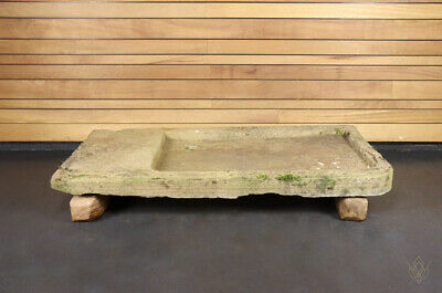 £240 • Buy Shallow Sandstone Hand Carved 19th Century Sink - WillMow