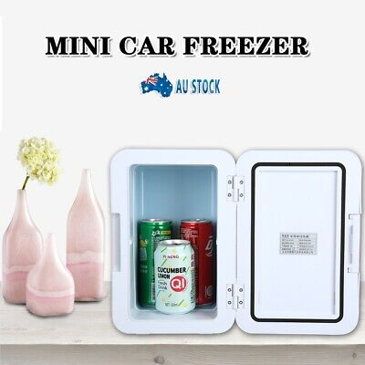 AU72.99 • Buy 8L 12V Portable Mini Car Freezer Cooler Warmer Electric Fridge Travel Box Home
