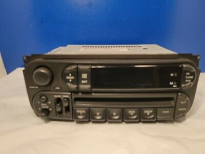 $21.95 • Buy 2002-2007 Chrysler Jeep Dodge Radio Stereo Unit AM FM CD Player, FACTORY OEM
