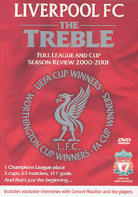 £12.99 • Buy As New! Liverpool FC DVD The Treble Season Review 2000/2001 00/01