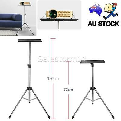 AU39.85 • Buy Projector Tripod Stand Bracket Adjustable Floor Laptop Stand Holder With Tray