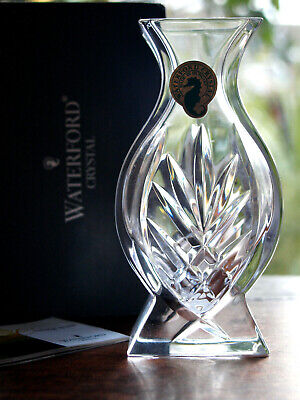 Waterford Crystal Athens Posy Vase Brand New In Box • 25£