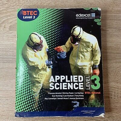 £7.99 • Buy BTEC Level 3 National Applied Science Student Book By Ellen Patrick, Shirley...