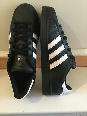 AU26.68 • Buy Adidas Superstar Black/white  Men's Trainers Size Uk 8 Good Condition